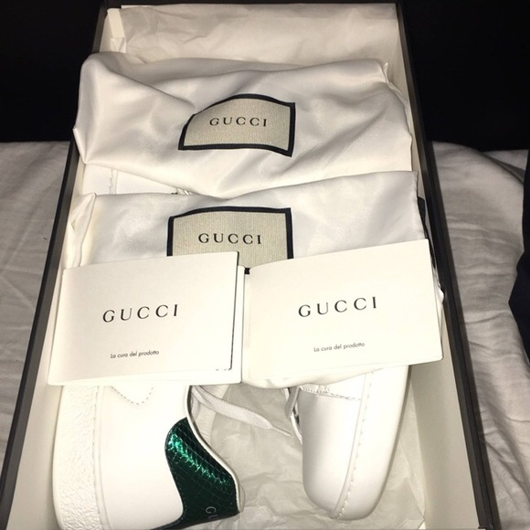 19a3eda0a9c Gucci Shoes - Gucci Ace Kingsnake Embroidered